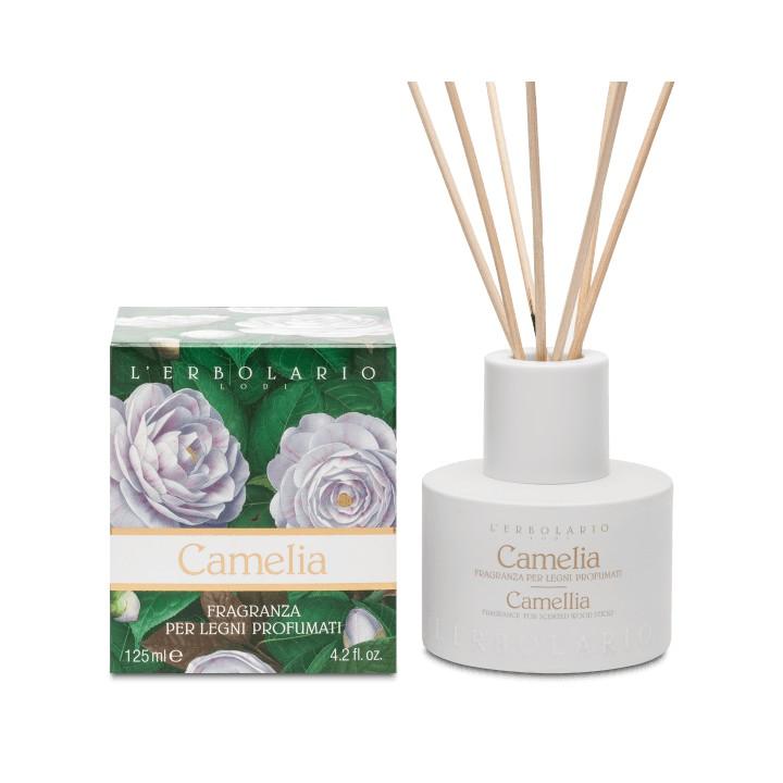 L'Erbolario Kamelia perfumy do patyczków zapachowych (dyfuzor), 125ml