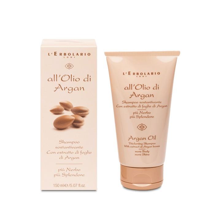 All'Olio di Argan dodający objętości szampon do włosów suchych i cienkich, 150 ml