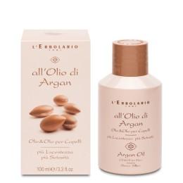 L'Erbolario Olej Arganowy olejek do włosów 100 ml