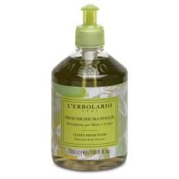 L'Erbolario Żel do mycia ciała i rąk z ekstraktem roślinnym działanie oczyszczajace 500 m