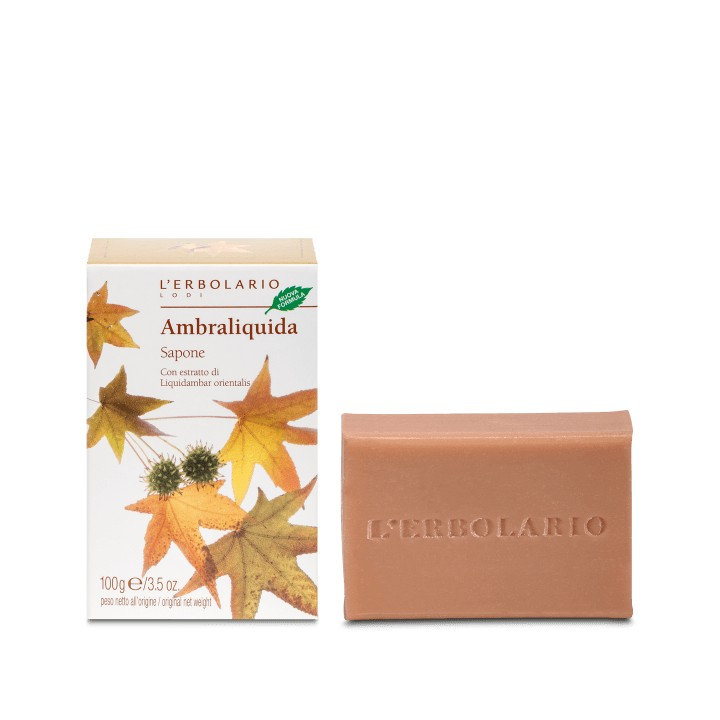 L'Erbolario Ambraliquida mydło perfumowane, 100g