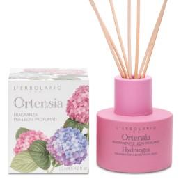 L'Erbolario Hortensja perfumy do patyczków zapachowych (dyfuzor) 125 ml