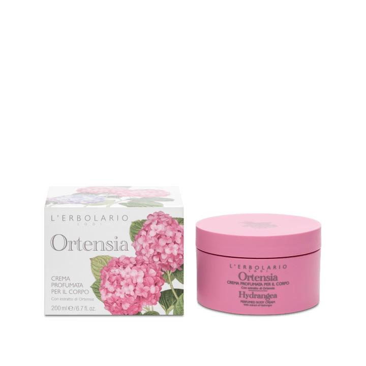 L'Erbolario Ortensia perfumowany krem do ciała, 200 ml