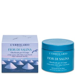 L'Erbolario Fior di Salina Gruboziarnisty peeling solny do ciała 500g