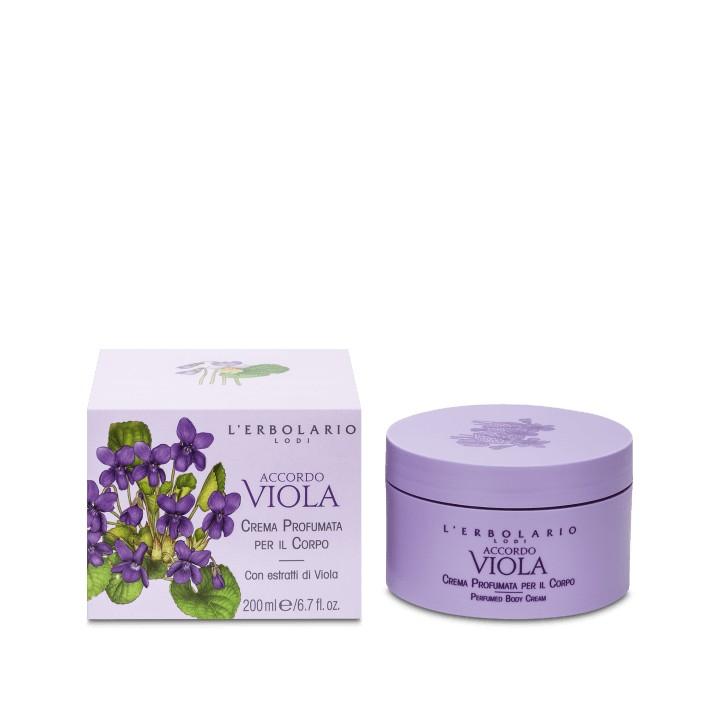 L'Erbolario Accordo Viola perfumowany krem do ciała, 200 ml