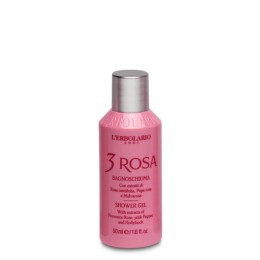 L'Erbolario 3 Rosa Pianka do Kąpieli 50ml