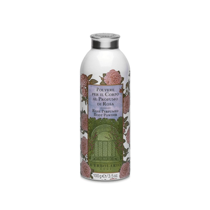 Rosa perfumowany puder do ciała, 100 g