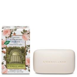 L'Erbolario Rosa Mydło perfumowane 100 g