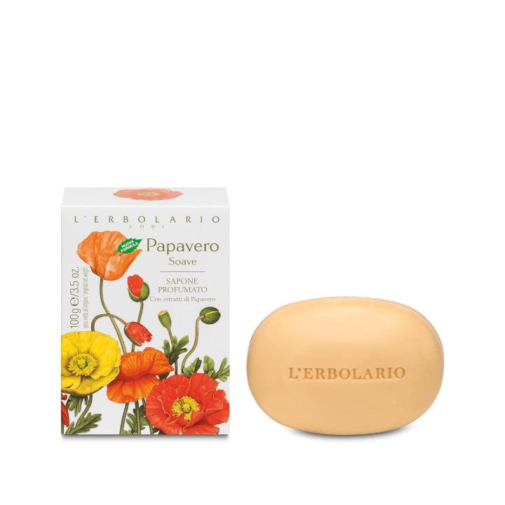 Papavero Soave mydło perfumowane, 100g