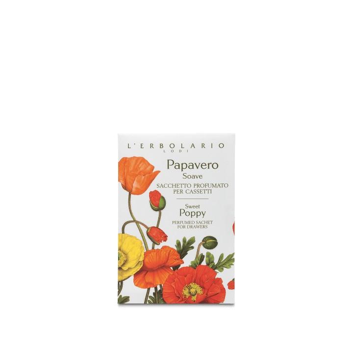 L'Erbolario Papavero Soave saszetka perfumowana do szuflady