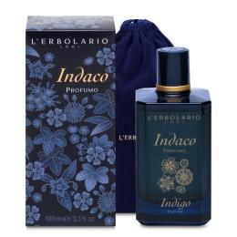 L'Erbolario Indaco Perfumy edycja limitowana z welurowym woreczkiem 100ml