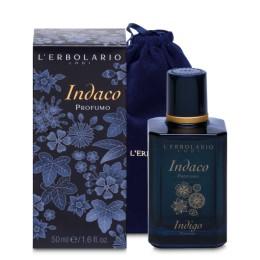 L'Erbolario Indaco Perfumy edycja limitowana z welurowym woreczkiem 50ml