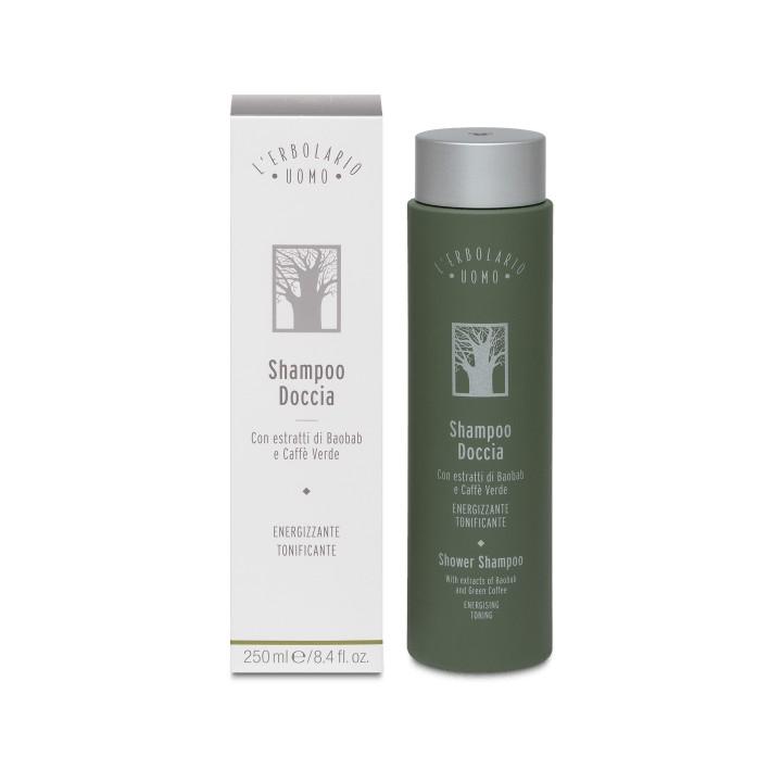 """L'Erbolario Uomo odświeżający szampon i żel pod prysznic """"2w1"""", 250 ml"""