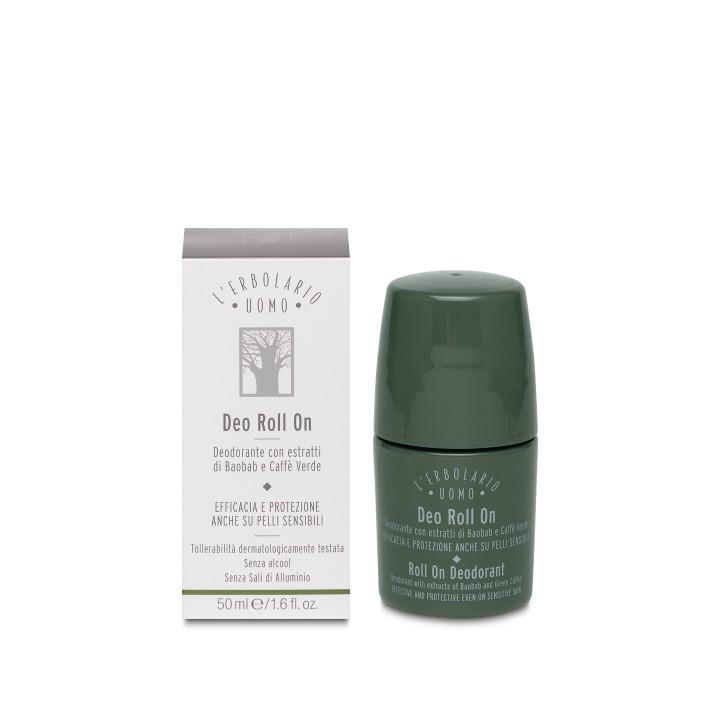 L'Erbolario Uomo dezodorant roll-on, 50 ml