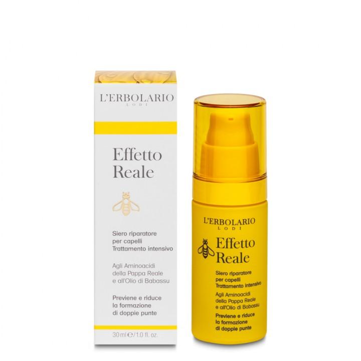 L'Erbolario Effetto Reale intensywnie regenerujące serum do włosów, 30 ml