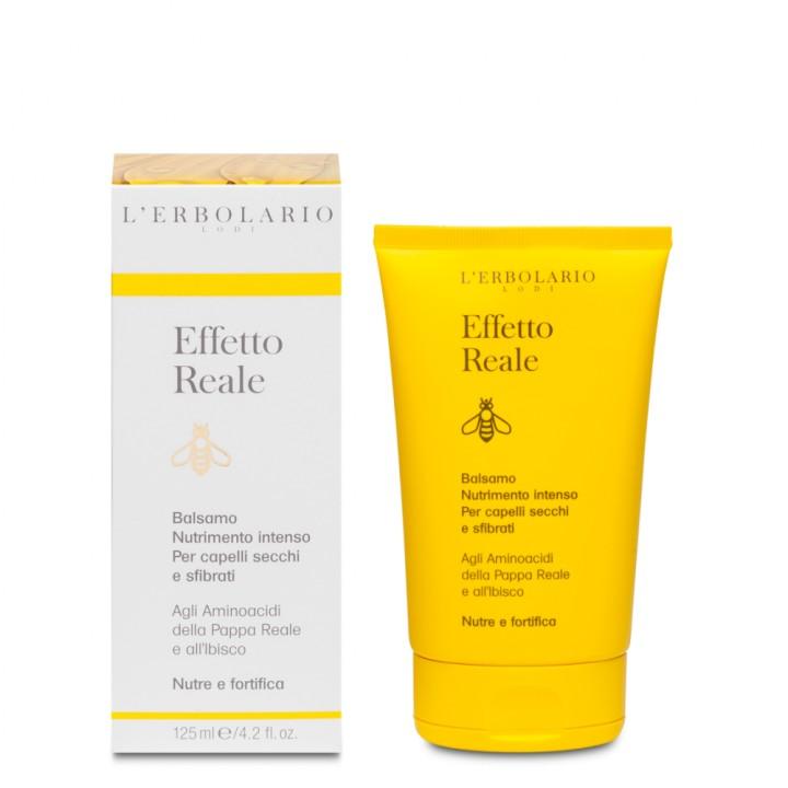 L'Erbolario Effetto Reale intensywnie regenerująca odżywka - do włosów suchych i zniszczonych, 125 ml