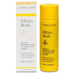 L'Erbolario Effetto Reale intensywnie odżywiający szampon - do włosów suchych i zniszczonych, 200 ml