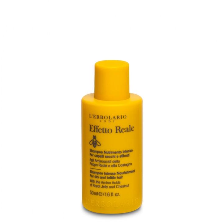 L'Erbolario Effetto Reale Szampon intensywnie odżywiający - do włosów suchych i zniszczonych 50 ml