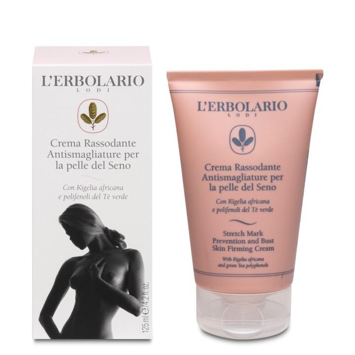 L'Erbolario ujędrniający krem do biustu przeciw rozstępom, 125 ml