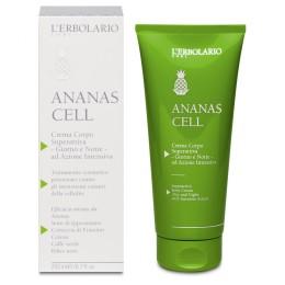 L'Erbolario Ananas Cell super aktywny krem do ciała 24h, działanie antycellulitowe, 200 ml