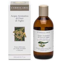 L'Erbolario Aromatyzowana Woda z Kwiatami Lipy Nawilżający Tonik do Twarzy 200 ml