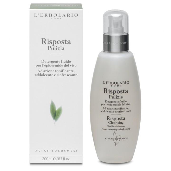 L'Erbolario Risposta emulsja oczyszczająca do mycia twarzy, 200 ml