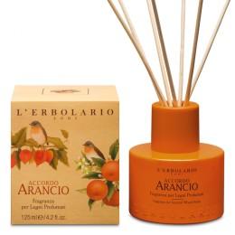L'Erbolario Accordo Arancio perfumy do patyczków zapachowych (dyfuzor) 125 ml