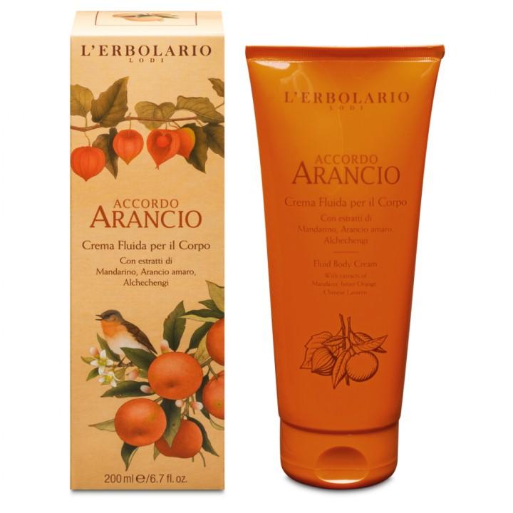 L'Erbolario Accordo Arancio perfumowany krem-emulsja do ciała, 200 ml