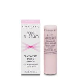 L'Erbolario Kwas Hialuronowy balsam do ust przeciw oznakom starzenia, 4.5 ml