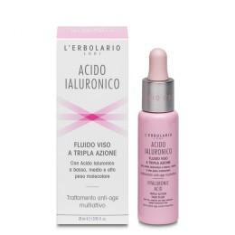 L'Erbolario Kwas Hialuronowy serum do twarzy przeciw oznakom starzenia, 28 ml