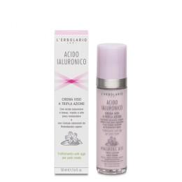 L'Erbolario Kwas Hialuronowy krem do twarzy przeciw oznakom starzenia do cery mieszanej, 50 ml