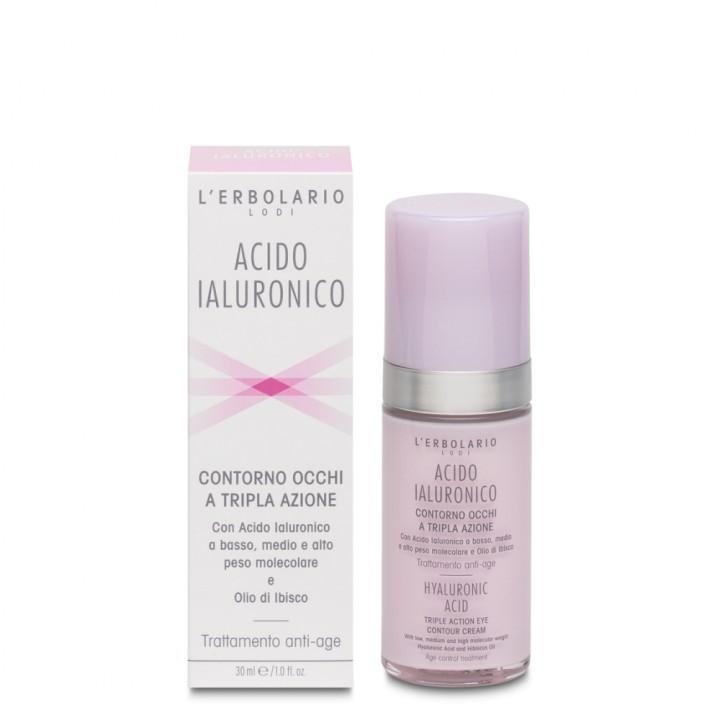 Acido Ialuronico krem pod oczy potrójne działanie, 30 ml