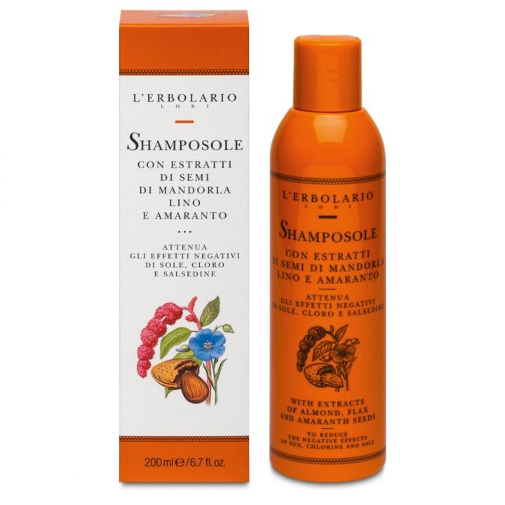 L'Erbolario Solare ochronny szampon do włosów, 200 ml