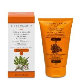L'Erbolario Solare Balsam do opalania dla bardzo wrażliwej skóry SPF 30 125 ml