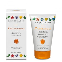 L'Erbolario Piccolosole Balsam po Opalaniu do Ciała dla dzieci 125 ml