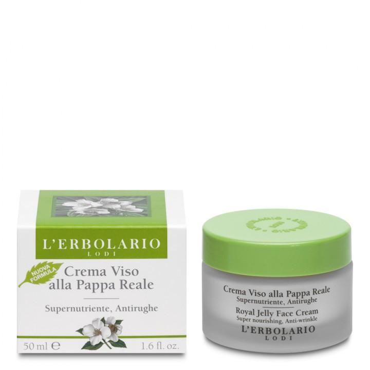 L'Erbolario regenerujący krem do twarzy z mleczkiem pszczelim, 50 ml
