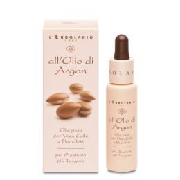 L'Erbolario Olej Arganowy skoncentrowany olejek do twarzy, szyi i dekoltu, 28 ml