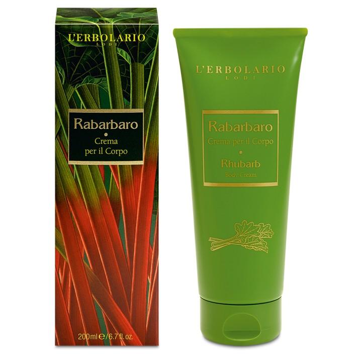 L'Erbolario Rabarbaro perfumowany krem do ciała, 200ml