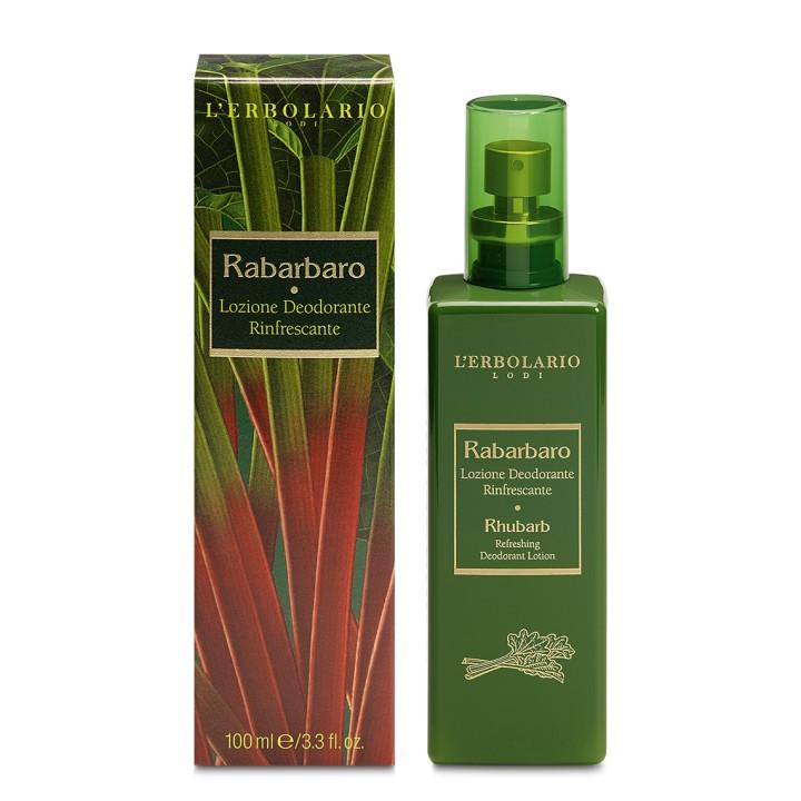 L'Erbolario Rabarbaro odświeżający dezodorant z atomizerem, 100 ml