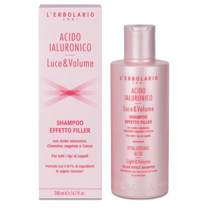 Acido Ialuronico Luce e Volume szampon do włosów dodający objętości i blasku, 200 ml