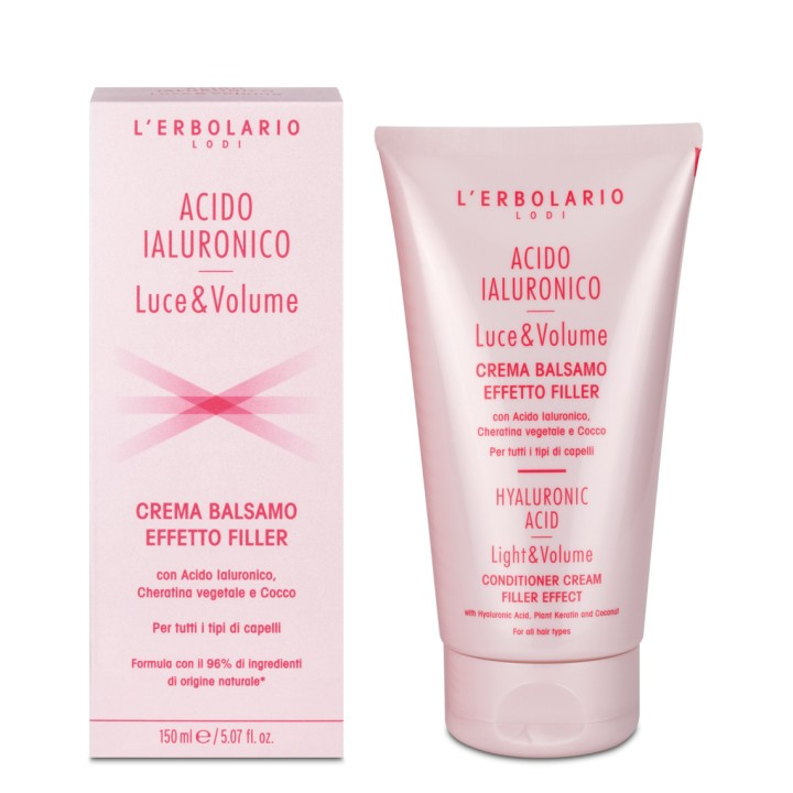 Acido Ialuronico Luce e Volume odżywka do włosów, 150 ml