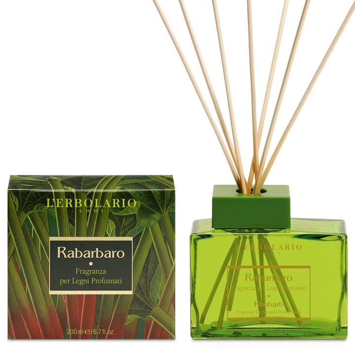 L'Erbolario Rabarbaro perfumy do patyczków zapachowych ( dyfuzor) , 200 ml