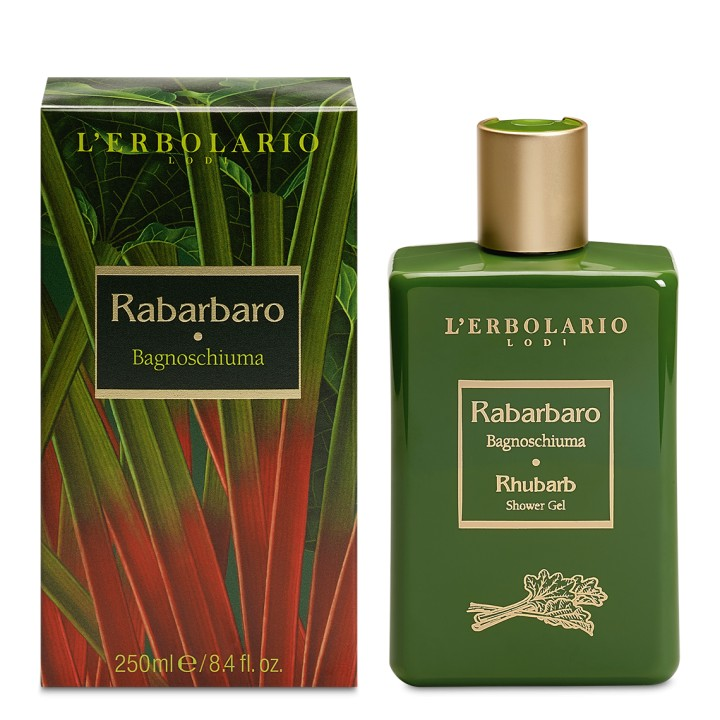 L'Erbolario Rabarbaro pianka do kąpieli, 250 ml