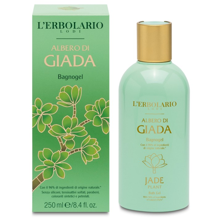 L'Erbolario Albero di Giada pianka do kąpieli, 250ml