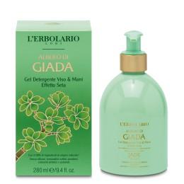 L'Erbolario Albero di Giada żel do mycia twarzy i rąk, 280ml