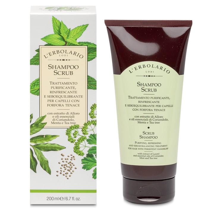 L'Erbolario Przeciwłupieżowy szampon – peeling do włosów,200ml