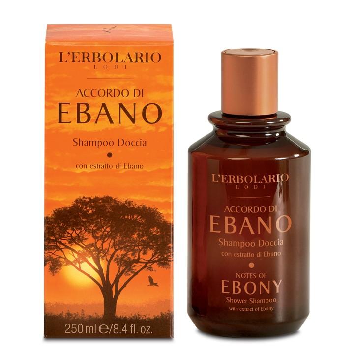 L'Erbolario Accordo di Ebano szampon/żel pod prysznic 2w1, 250 ml
