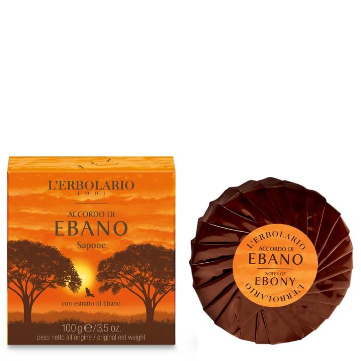 L'Erbolario Accordo di Ebano mydło perfumowane, 100 g