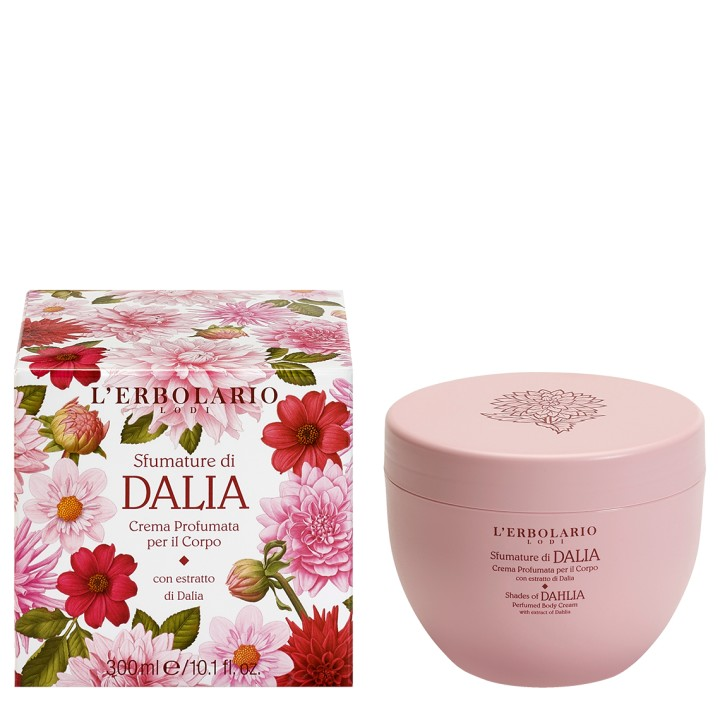 L'Erbolario Sfumature di Dalia perfumowany krem do ciała, 300 ml