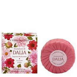 L'Erbolario Sfumature di Dalia, mydło perfumowane, 100 g
